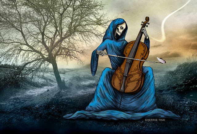 Skeletal Cello: Melancholy Sonata