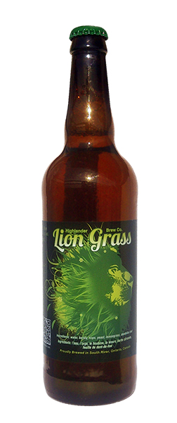 Lion Grass Beer from Highlander Brewery