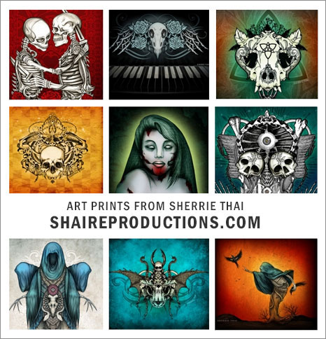Sherrie Thai Art Prints Banner, ShaireProductions.com