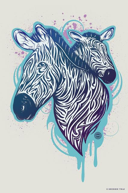 Tribal Zebras