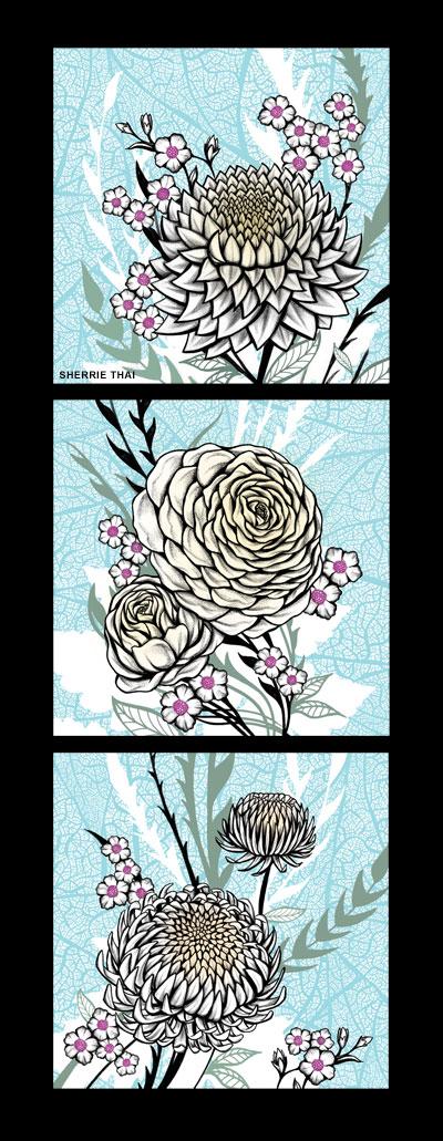Flower Art Series