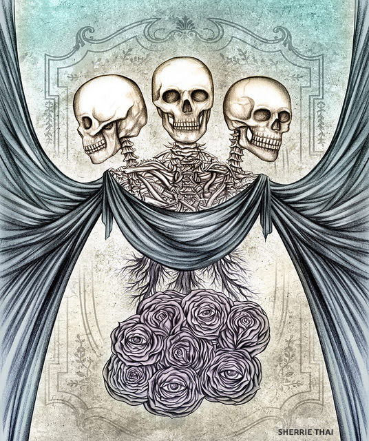 Unordinary Wonders, Skull Art by Sherrie Thai of Shaireproductions