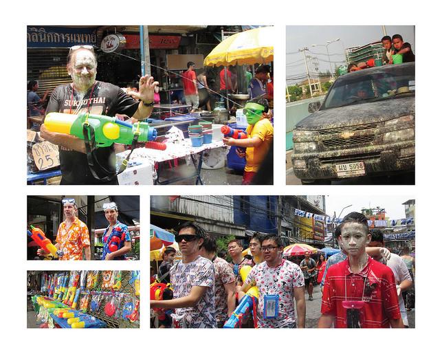 Bangkok Songkran Water Festival Thailand
