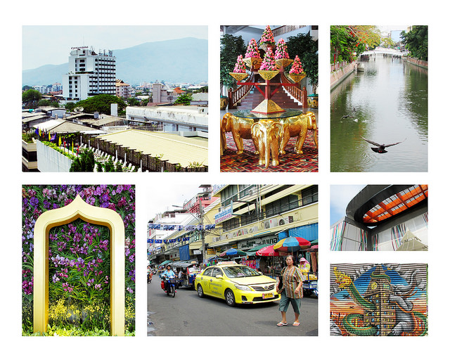 Thailand Photo Collage