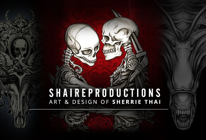 Shaireproductions Art Banner