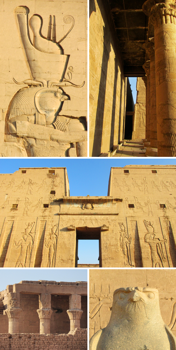 Egypt Temple of Horus Edfu Travel Photo, by Sherrie Thai of Shaireproductions