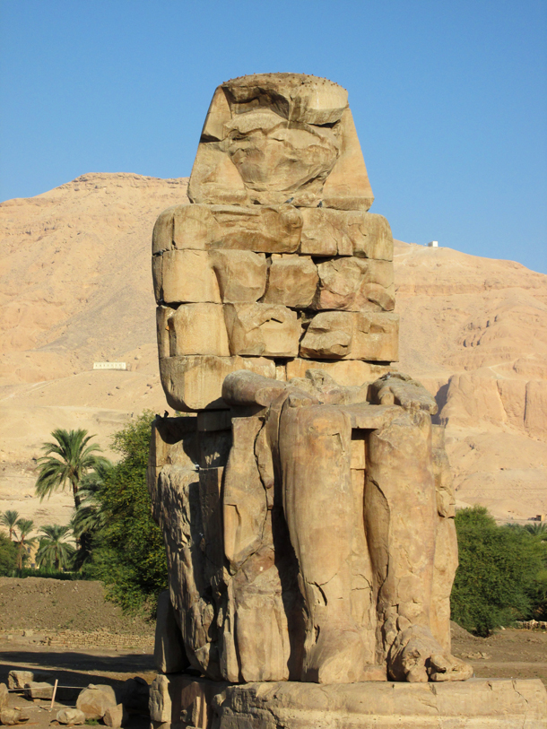 Statue of Memnon Travel Photo, by Sherrie Thai of Shaireproductions