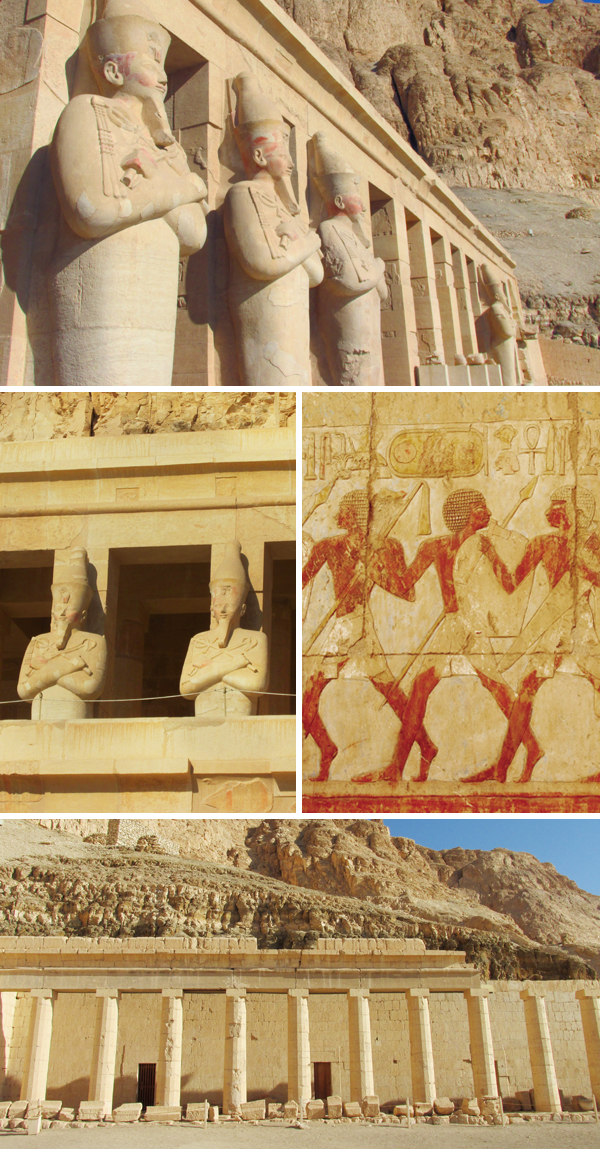 Egyptian Queen Hatshepsut Temple 2, by Sherrie Thai of Shaireproductions