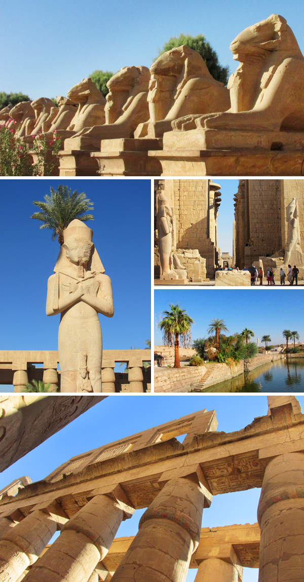 Egypt Temple of Karnak Luxor Travel Photo, by Sherrie Thai of Shaireproductions