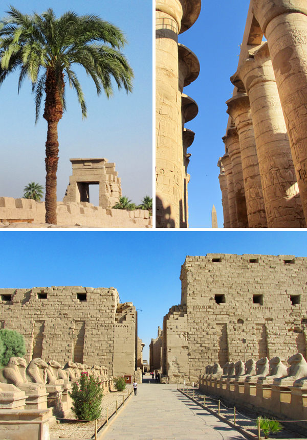 Egypt Temple of Karnak Luxor Travel Photo 2, by Sherrie Thai of Shaireproductions
