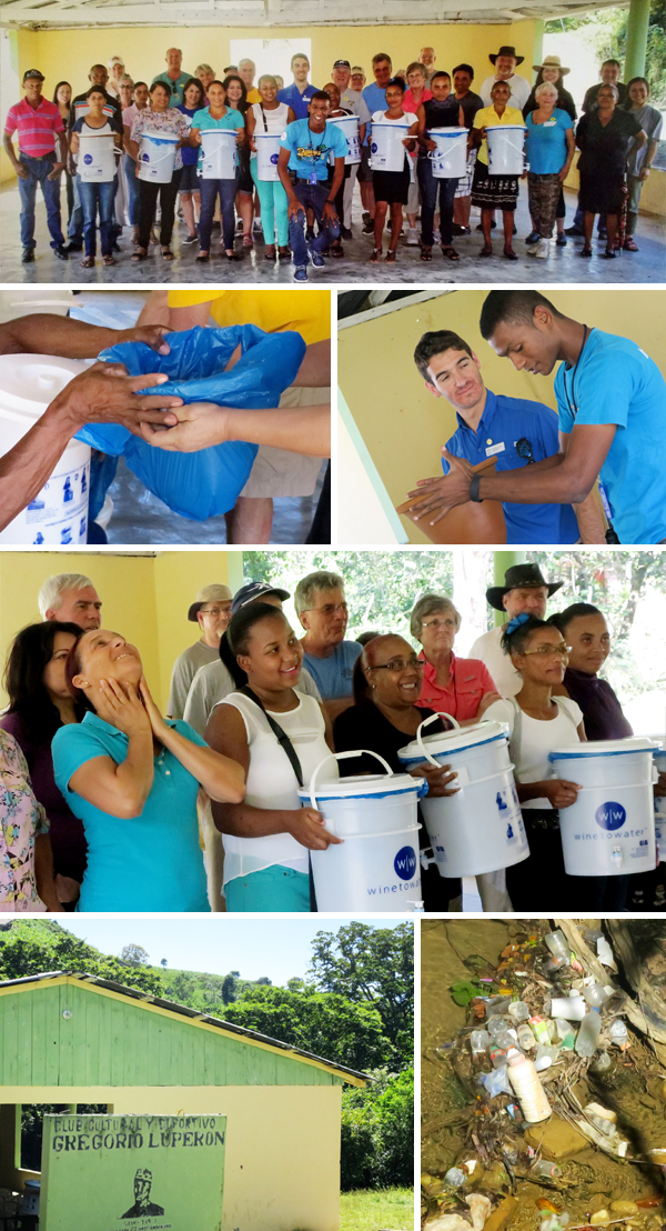 Wine to Water Dominican Republic Water Filter Project, Community, Photos by Sherrie Thai of Shaireproductions.com