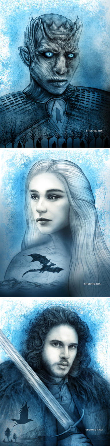 Game of Thrones Portrait Art