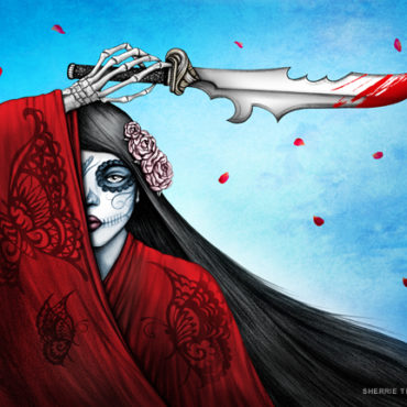 Revenge of Madame Butterfly - Art by Sherrie Thai of Shaireproductions.com